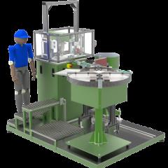 machine pour l'assemblage de composants automobiles