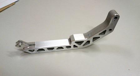 Pièce pour robot en aluminium